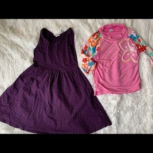 Girls Size 6, 2/$20 2 piece clothing set